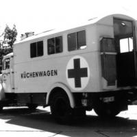 Rotes Kreuz auf Rädern