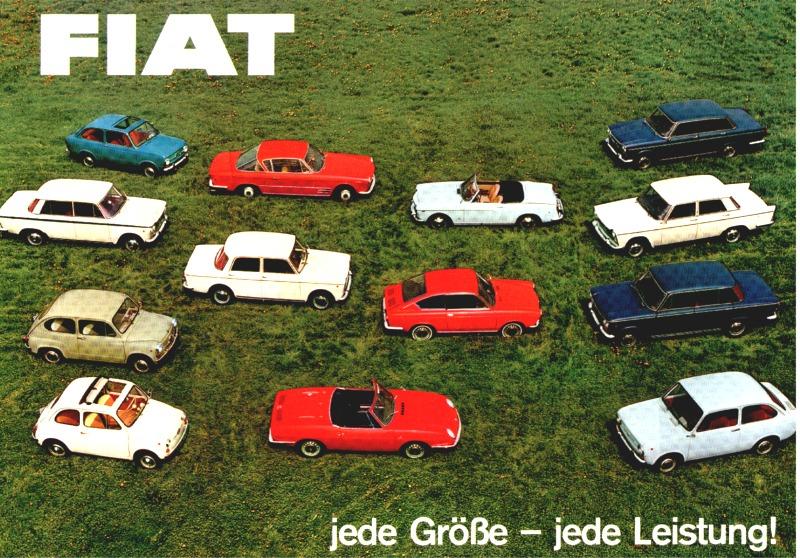 FIAT - jede Größe - Jede Leistung